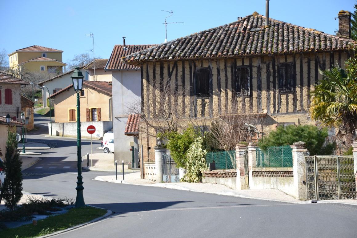 Cazaux - Cazaux-Savès - maison à colombages