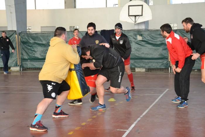 Rugby LSC - C'est parti pour l'échauffement !