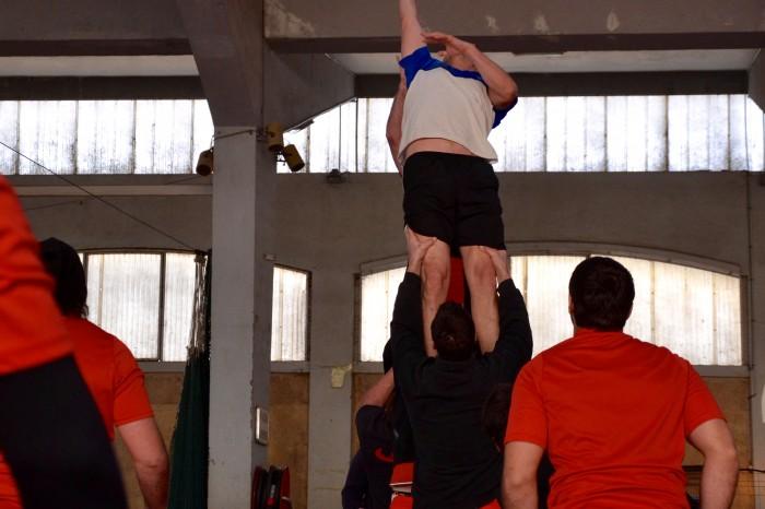Rugby LSC - Travail de touche
