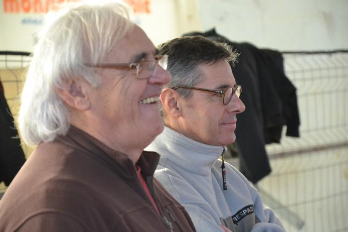 Rugby LSC - Alain Blanc et Eric Daubriac prennent déjà du plaisir