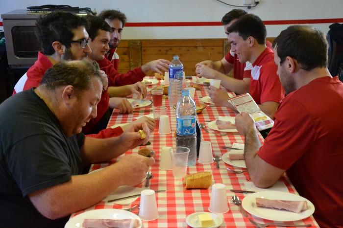 Rugby LSC - Repas de sportif !