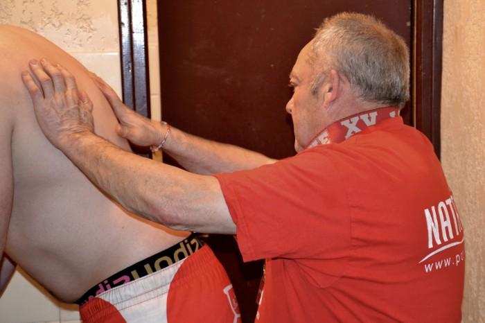 Rugby LSC - Francis Marson à l'attaque d'un dos