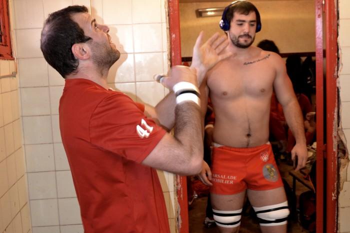 Rugby LSC - On jongle, on s'isole en musique... à chacun sa technique pour la recherche de concentration