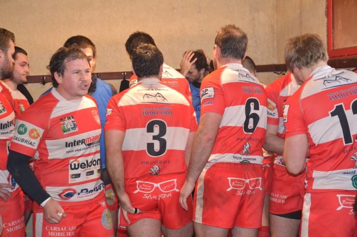 Rugby LSC - Capitaine Grégory donne de la voix