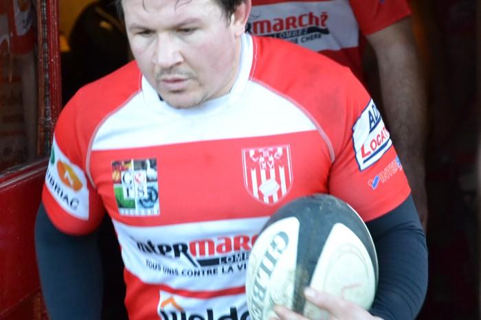 Rugby LSC - Capitaine Grégory entre dans l'arène...