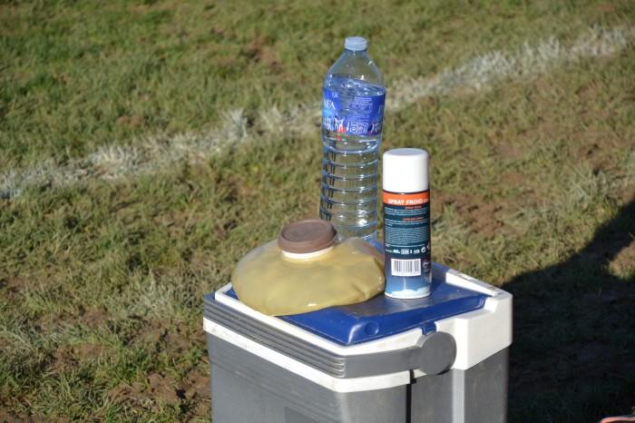 Rugby LSC - Le matériel pour les premiers soins !