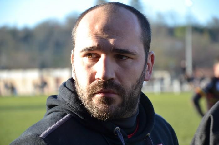 Rugby LSC - Christophe, entre concentration et inquiétude