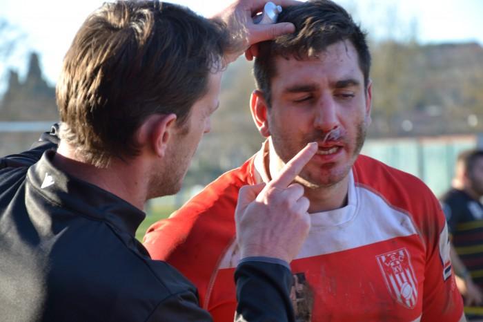 Rugby LSC - Après Quentin Salvat, c'est au tour de Michael Dachary de subir le rouleau compresseur des Ruthénois