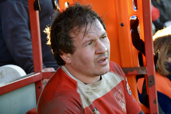 Rugby LSC - Capitaine Grégory est sorti mais il est toujours dans le match