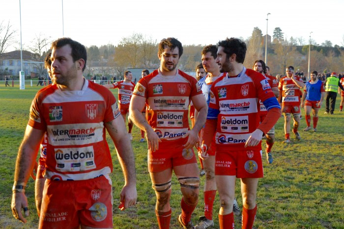 Rugby LSC - Pas de triomphalisme pour les joueurs, simplement la satisfaction du travail accompli.