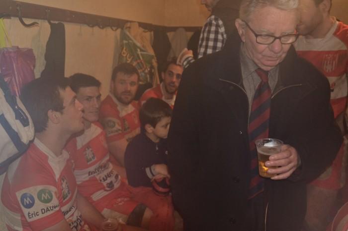 Rugby LSC - Tout en retenu, René Daubriac n'en savoure pas moins le plaisir de la victoire