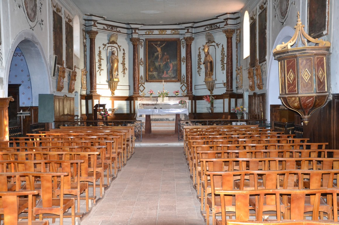 Laymont - Intérieur de l'église