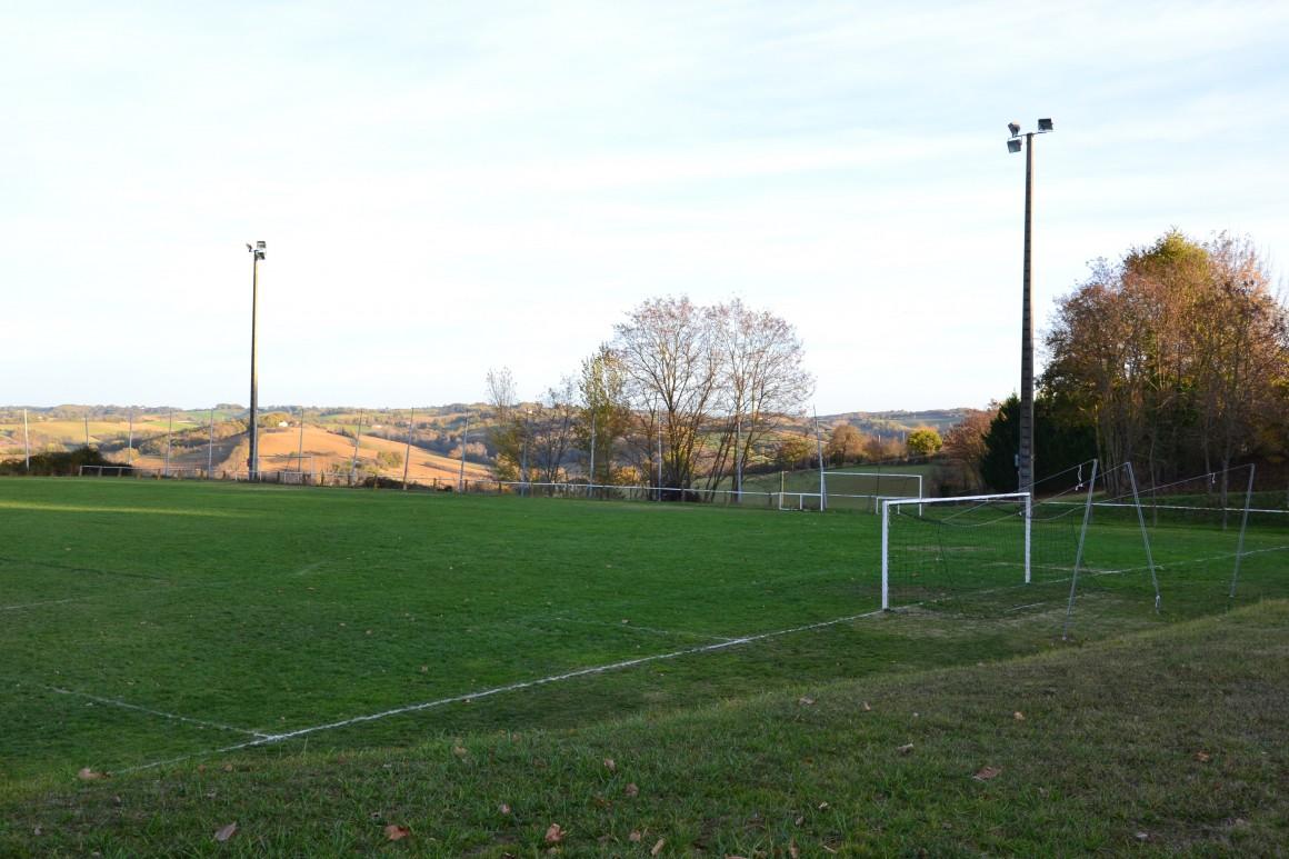 Laymont - Le terrain de football