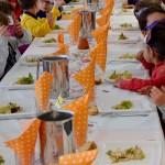Repas carnaval  à l'école Yves Chaze de Samatan
