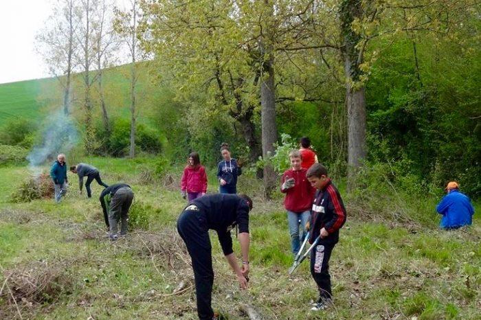 Chantier saint-loube-amades actions jeunes 2