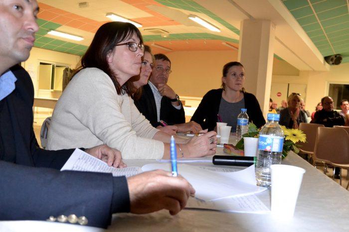Ag-office-de-tourisme-du-saves2 - Les trois conseillères en séjour en compagnie des vice-présidents Jean-Pierre Cot et Pierre Lacomme