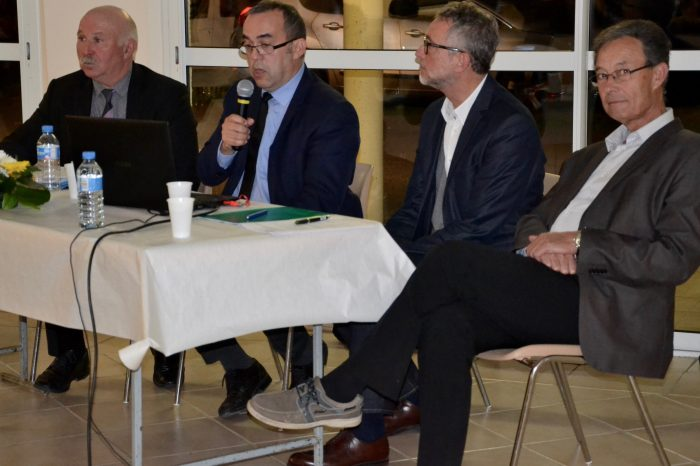 Ag-office-de-tourisme-du-saves4 - Christian Daignan, Hervé Lefebvre, José-Louis Pereira et Alain Sancerry