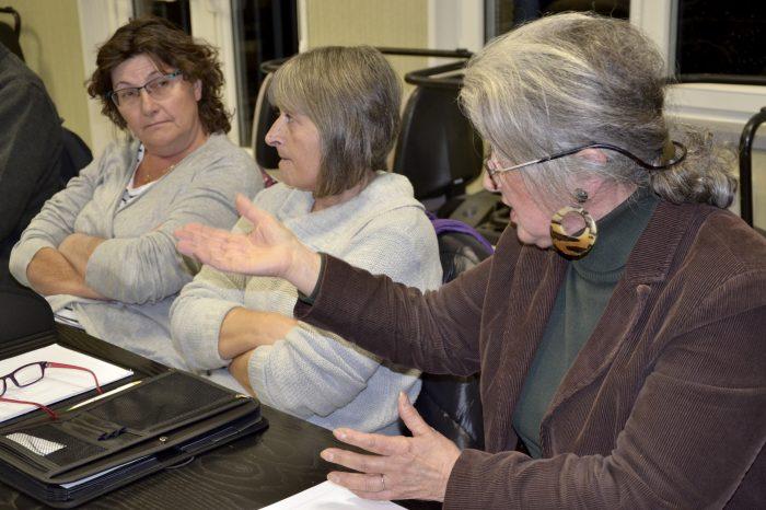 AG OT - Nathalie Crescent, Gisèle Brousset et Marie-Thérèse Caille