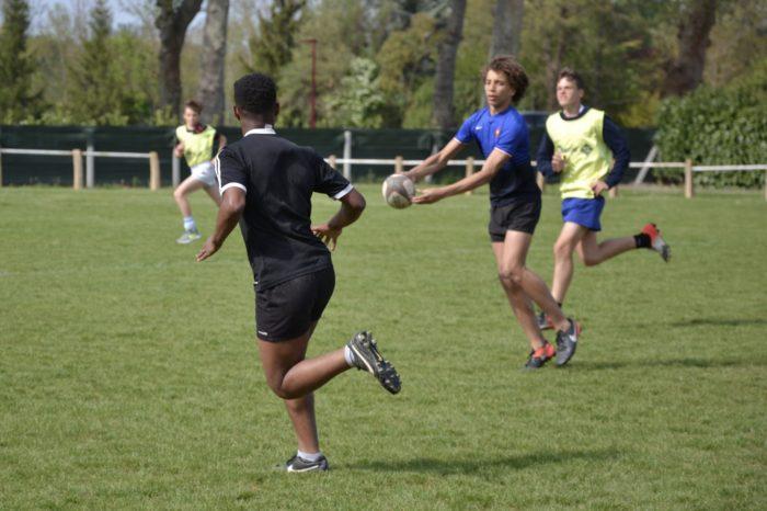 Jeunes du Racing club de France à Samatan - avril 2017