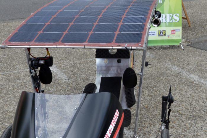 Ronde de l'Isard - mai 2017 - Vélo solaire