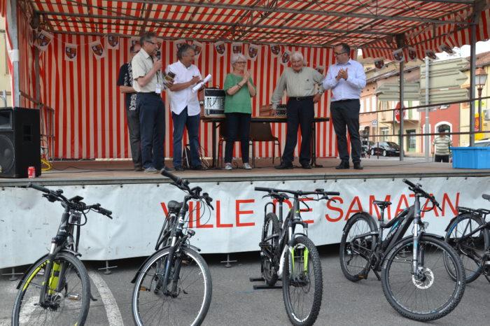 Ronde de l'Isard - mai 2017 - Présentation du Vélo assistance électrique