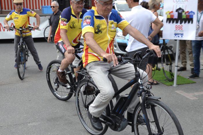 Ronde de l'Isard - mai 2017 - Démonstration Vélo assistance électrique