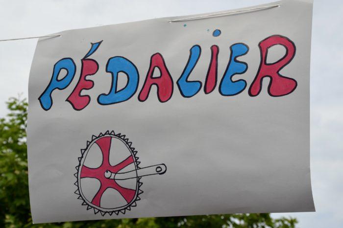 Ronde de l'Isard - mai 2017 - Mot d'accueil réalisé par les enfants de l'ALAE de l'école Yves Chaze