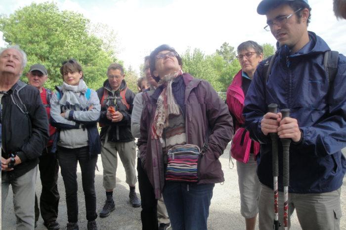 Marcheurs Dordogne au PR26 - 2