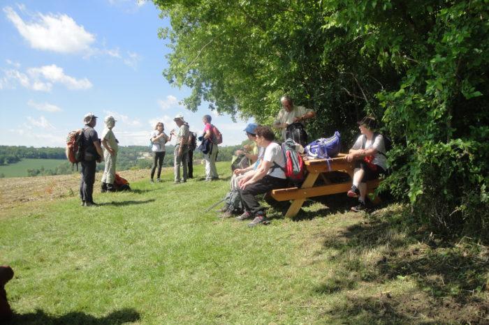 Marcheurs Dordogne au PR26 - 3