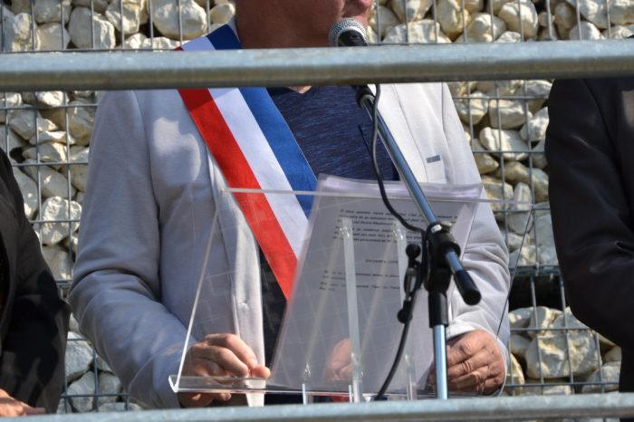 Inauguration de l'espace paysager Jean Bertin de Monblanc -septembre 2017 - Alain Gateau