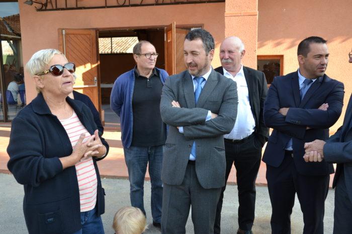Visite du secrétaire général de la préfecture à Polastron - À la rencontre des habitants