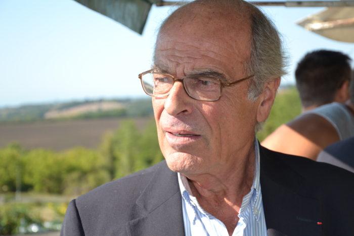 Inauguration de l'espace paysager Jean Bertin de Monblanc -septembre 2017 - Philippe Bertin