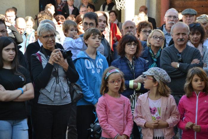 Ecole de Monblanc - octobre 2017 - Anonymes, proches, famille, etc.  ils sont venus nombreux pour ce grand moment