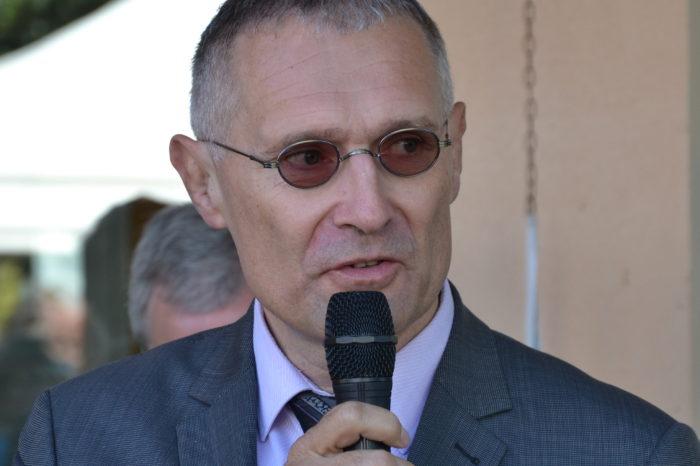Ecole de Monblanc - octobre 2017 - Le sénateur Franck Montaugé