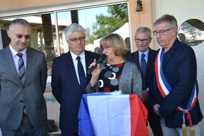 Ecole de Monblanc - octobre 2017 - Lors des discours