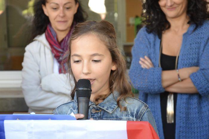 Ecole de Monblanc - octobre 2017 - Sans hésitation les enfants ont annoncé leur souhait de donner un nom à leur école