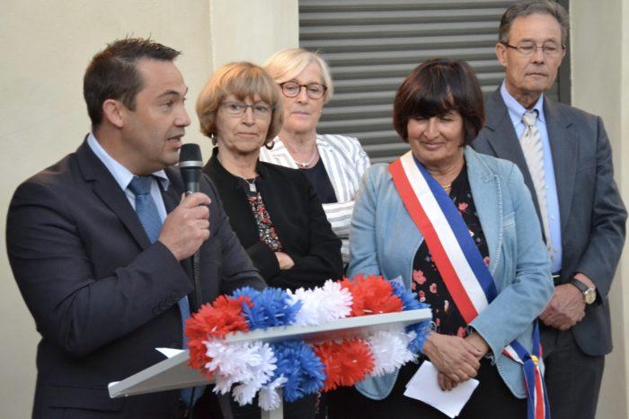 Inauguration de l'école publique de Laymont