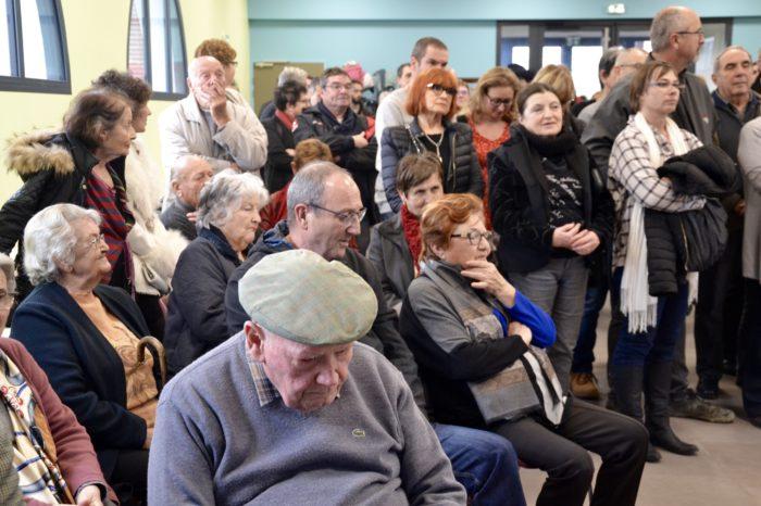 Inauguration salle polyvalente de Pompiac - février 2018 - La population est venue en nombre pour l'événement
