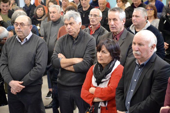Inauguration salle polyvalente de Pompiac - février 2018 - Les élus du Savès étaient présents en nombre