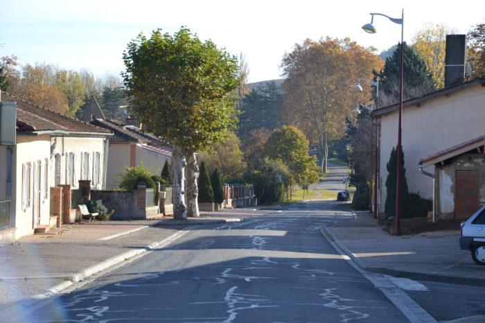 Polastron - La rue principale