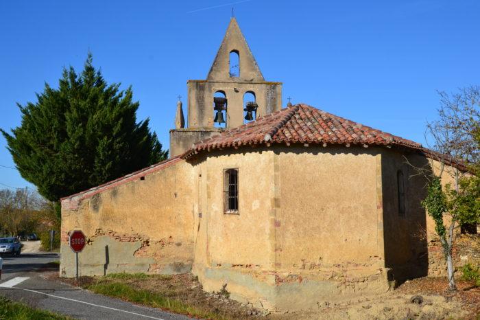 Polastron - Polastron - l'église de Laurac
