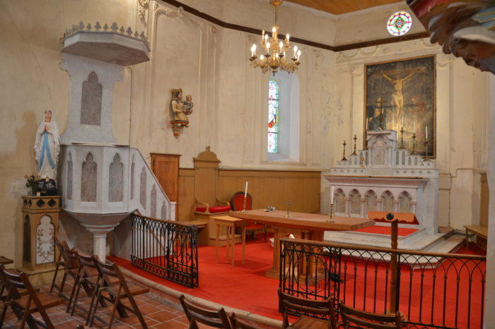 Pellefigue - Intérieur de l'église