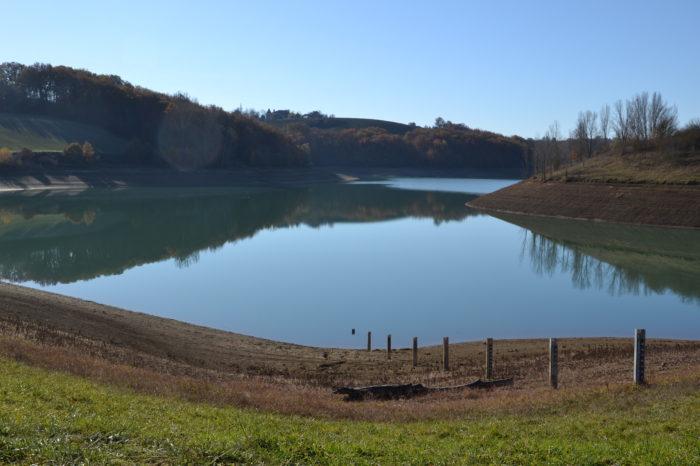 Pellefigue - Le lac