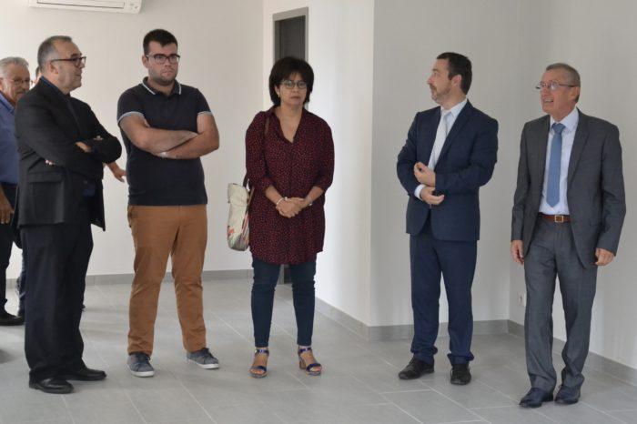 Logement communal restauré - Polastron septembre 2018 - Début de la visite