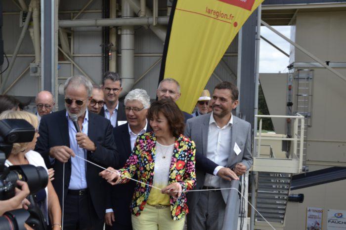 Inauguration silo Nataïs - septembre 2018 - Les officiels