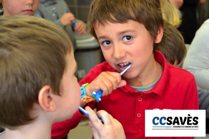 Hygiène bucco-dentaire étape 2 - janvier 2019-2 - Polastron : allez frotte !