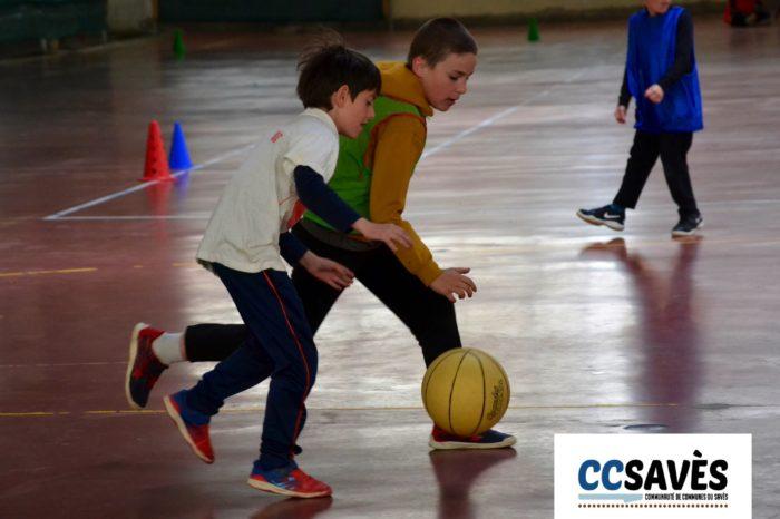 Rencontres basket inter-écoles - avril 2019-3 - Tournoi des CE2 de Montpézat, Polastron et Samatan à la Halle à la volaille de Samatan