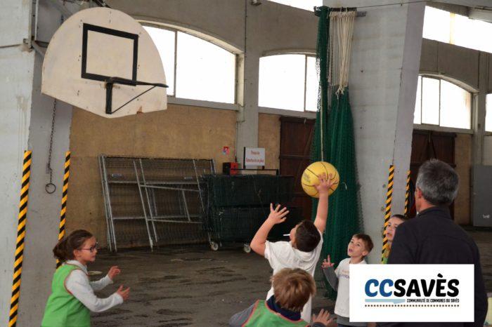 Rencontres basket inter-écoles - avril 2019-4 - Tournoi des CE2 de Montpézat, Polastron et Samatan à la Halle à la volaille de Samatan