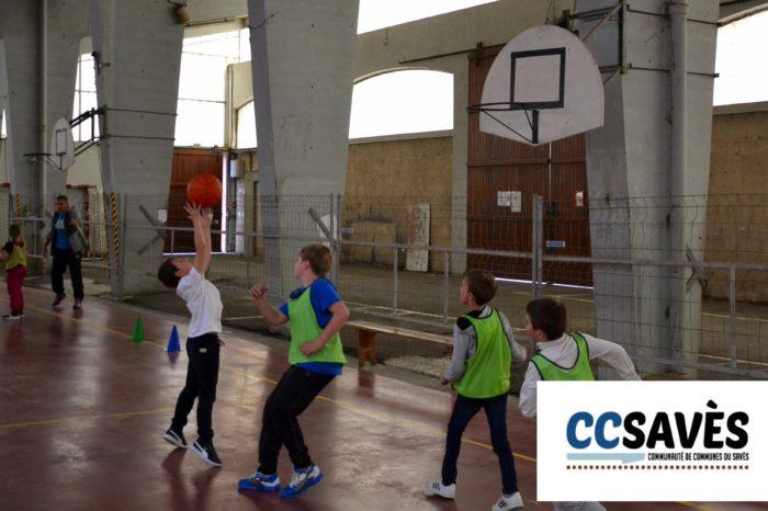 Rencontres basket inter-écoles - avril 2019-5 - Tournoi des CE2 de Montpézat, Polastron et Samatan à la Halle à la volaille de Samatan