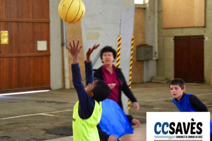 Rencontres basket inter-écoles - avril 2019-6 - Tournoi des CE2 de Montpézat, Polastron et Samatan à la Halle à la volaille de Samatan